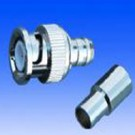 B111A/2PCS - RG6 BNC MALE CRIMP PLUG