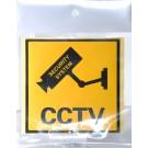 CCTV WARNING STICKER 21 X 14cm